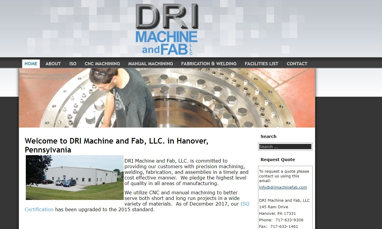 DRI Machine Shop, Inc.