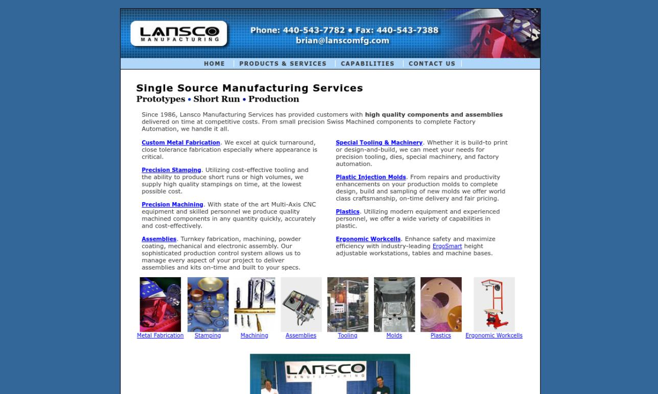 Lansco Manufacturing Services