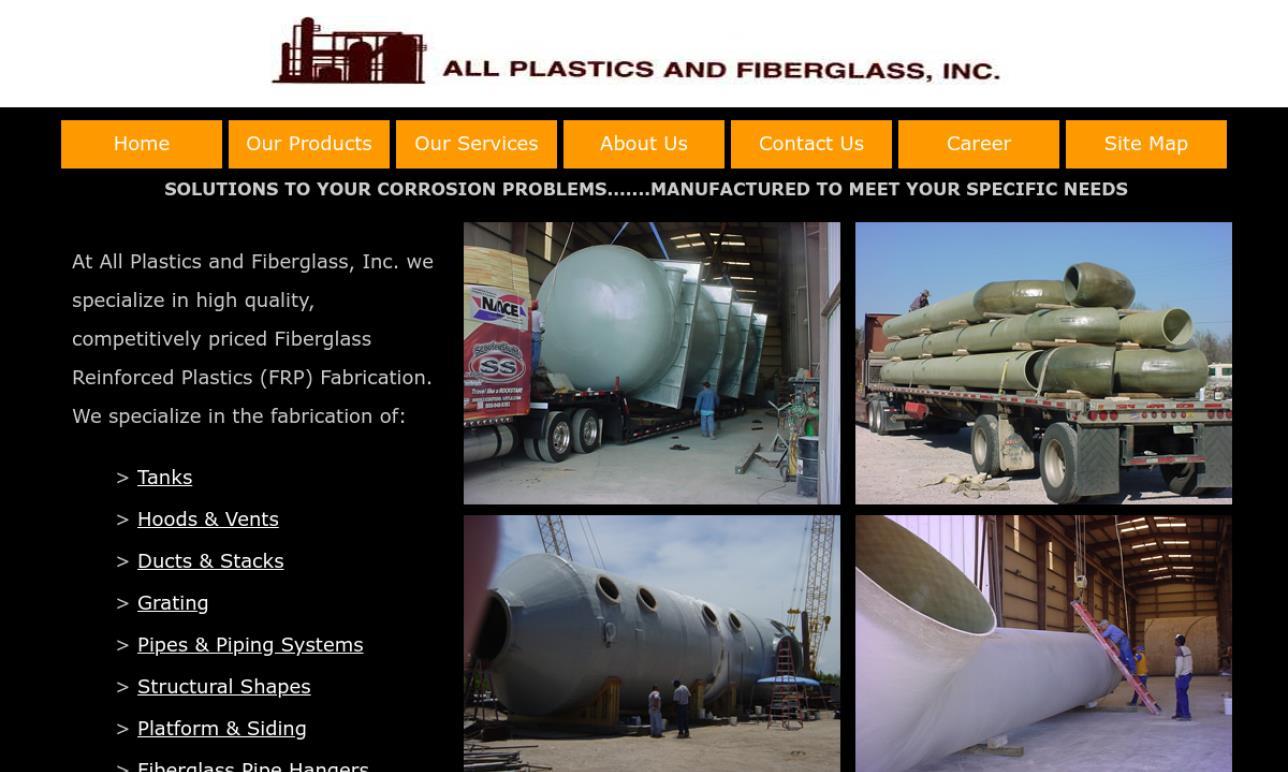 All Plastics and Fiberglass, Inc.