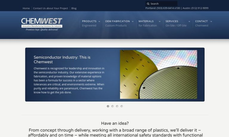 Chemwest Systems, Inc.
