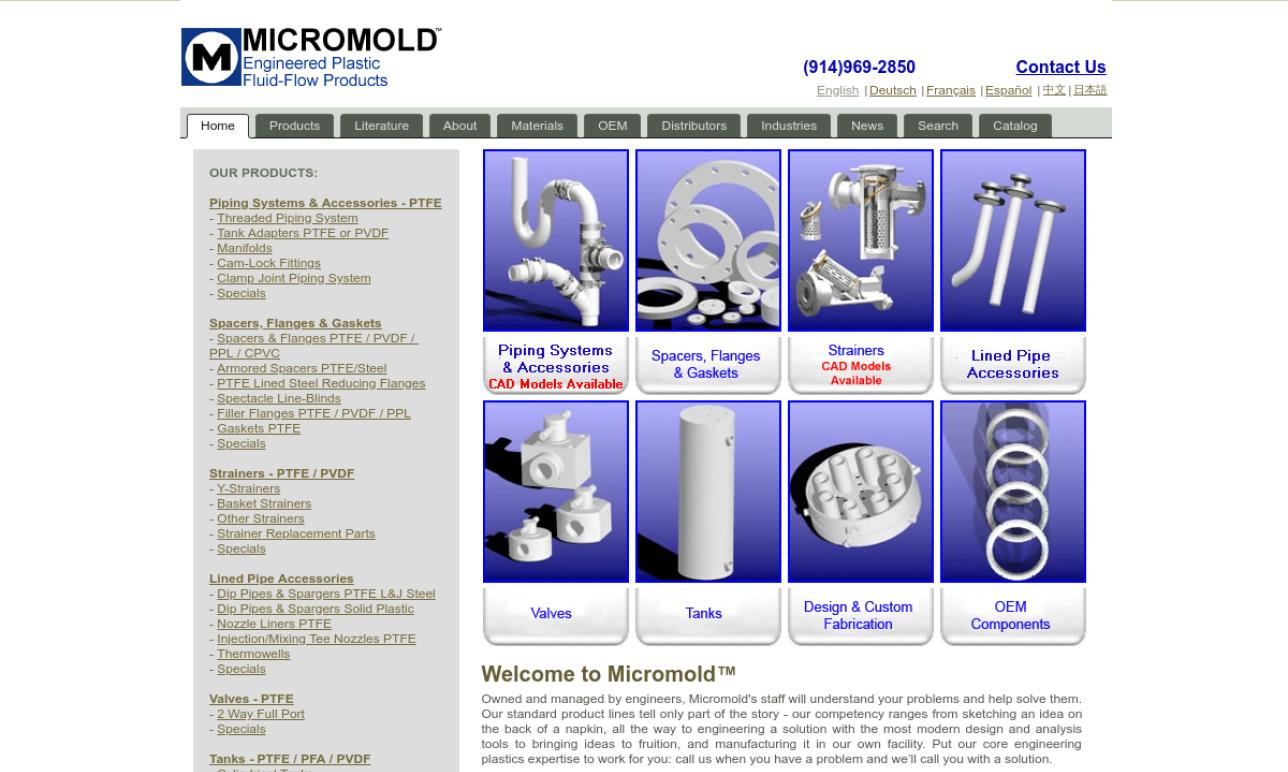 Micromold Products, Inc.