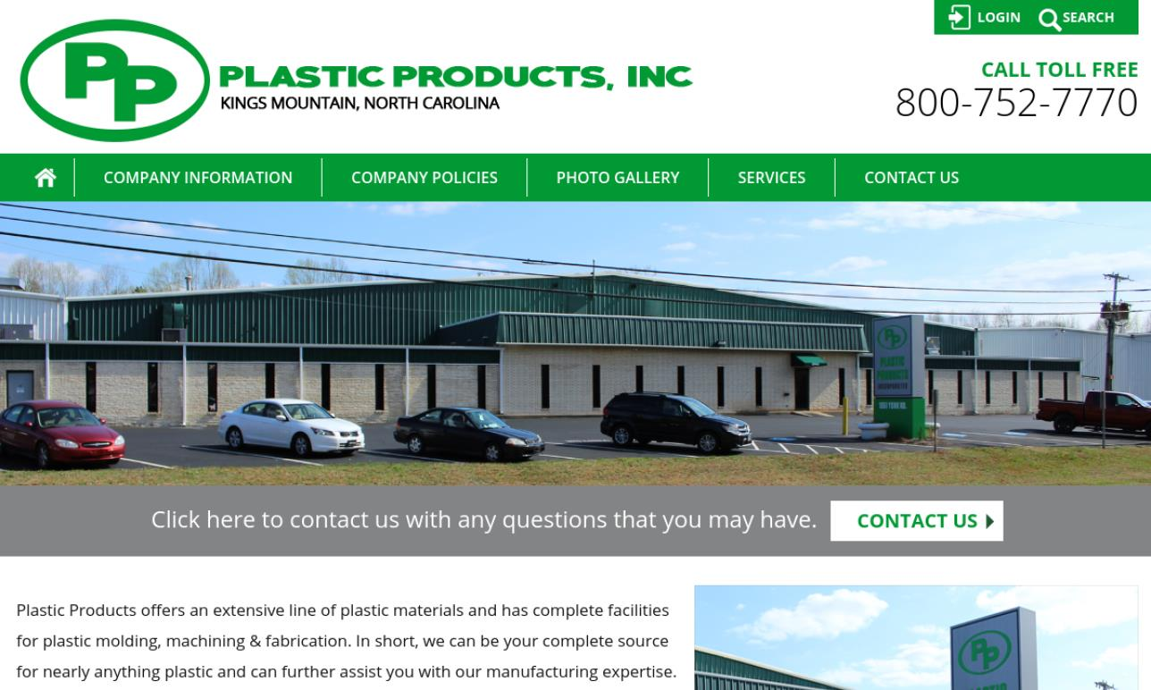 Plastic Products, Inc.