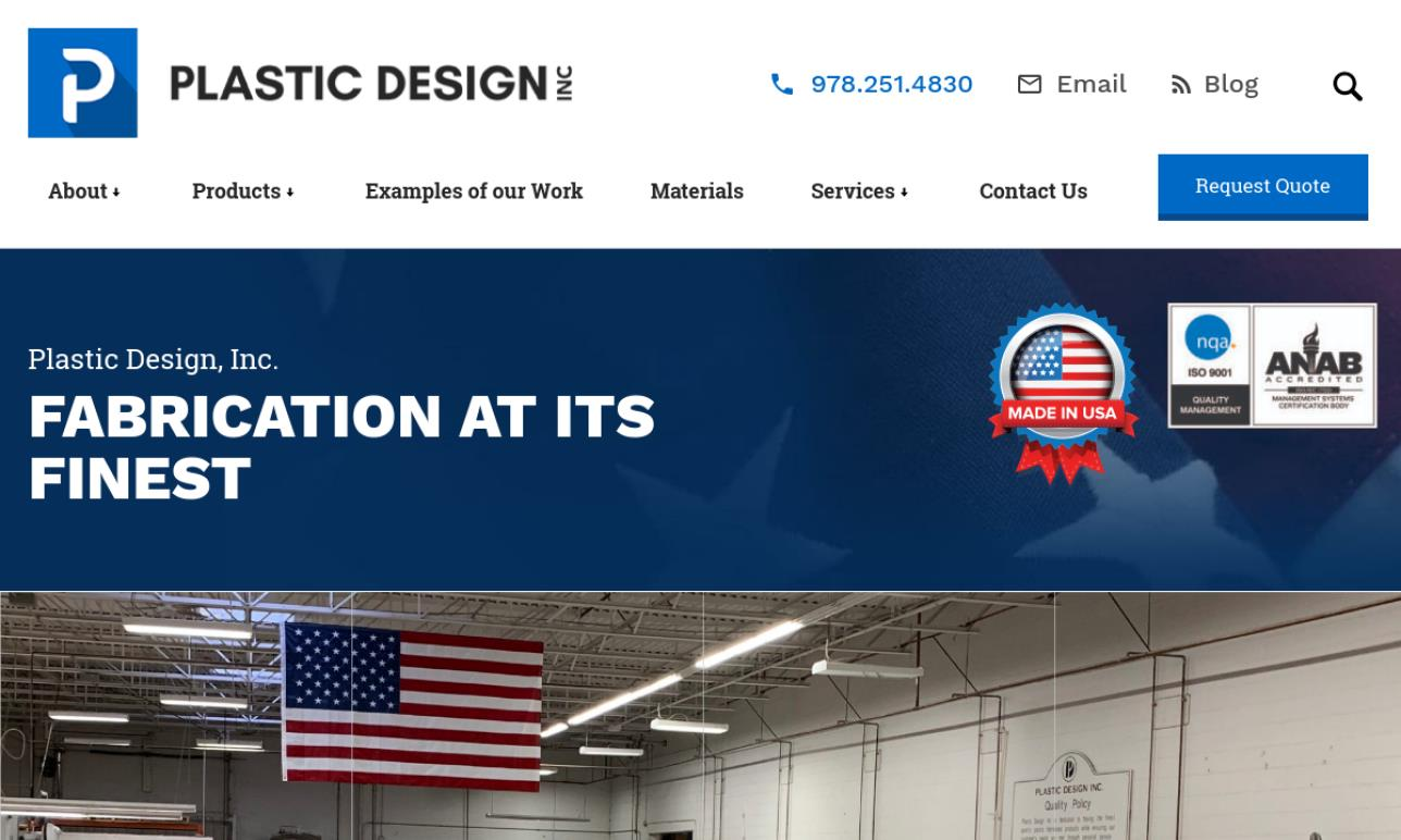 Plastic Design, Inc.