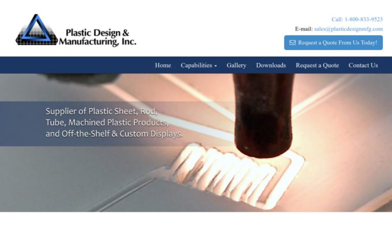 Plastic Design & Manufacturing, Inc.