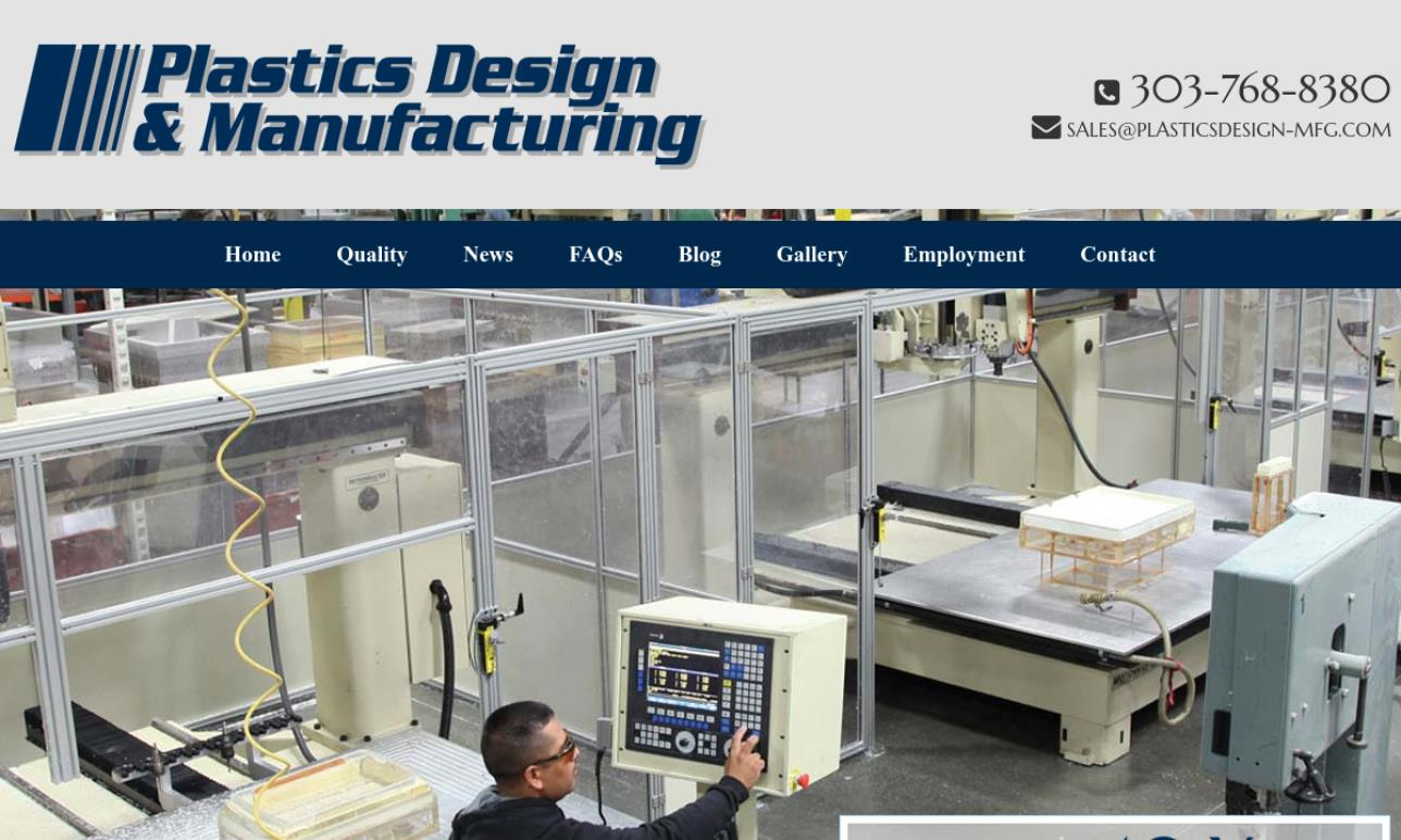 Plastics Design & Manufacturing, Inc.