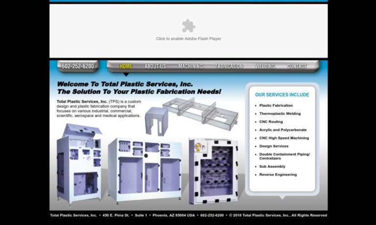 Total Plastic Services, Inc.